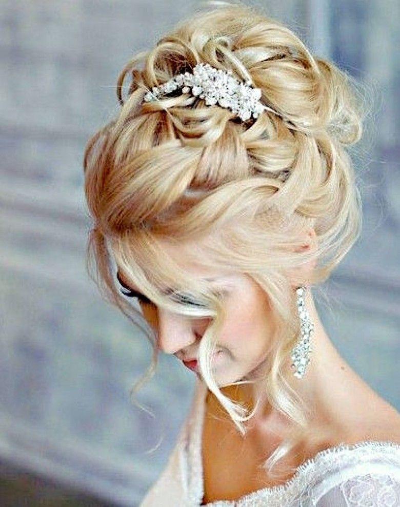 Les 20 Plus Beaux Chignons De Mariee Chignon Mariee Coiffure Mariage Chignon Haut Mariage