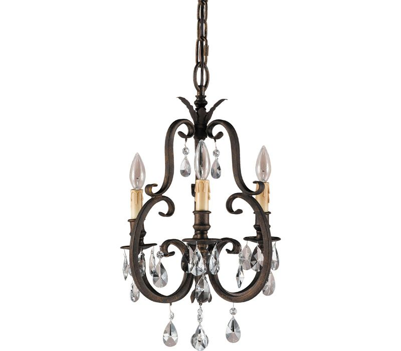 Murray Feiss Lighting F2226/3ATS Salon Maison Chandelier at Del Mar Fans & Lighting, over 100,000 happy customers