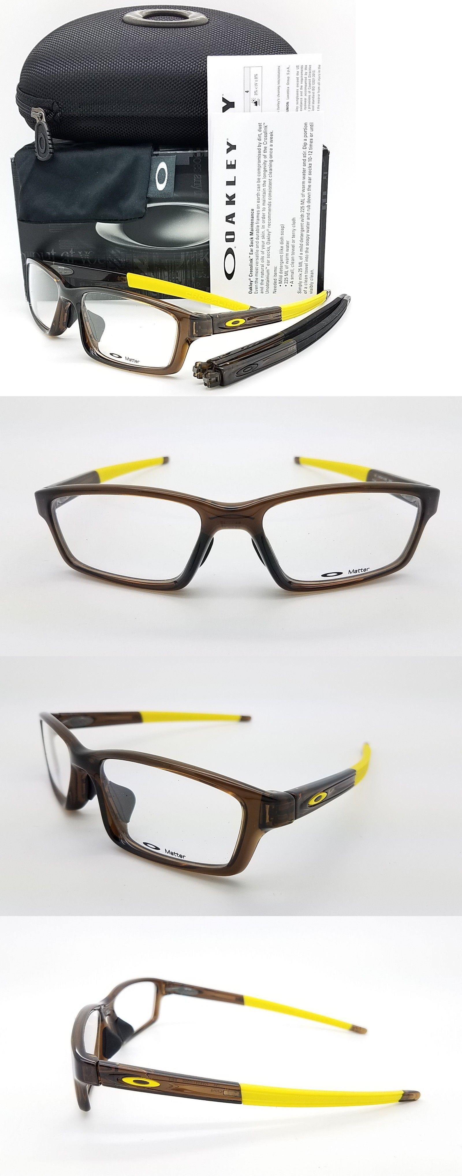 d9c071d0902c Eyeglass Frames 180957  New Oakley Crosslink Pitch Rx Asian Fit Frame Bark  Ox8041-0356 Brown 56Mm 8041 -  BUY IT NOW ONLY   75.55 on  eBay  eyeglass   frames ...