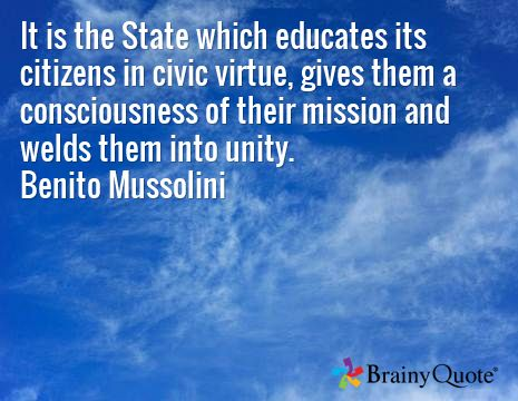 Mussolini Quotes Benito Mussolini Quotes  Consciousness Politicians And Quotation