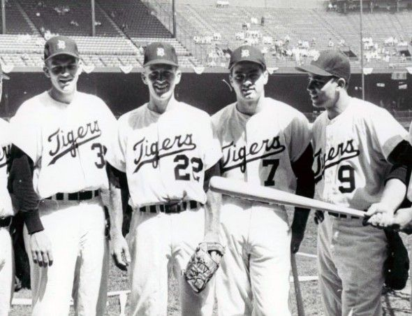 Detroit Tigers 1960 Home Uniform Detroit Detroit Tigers Detroit Tigers Baseball