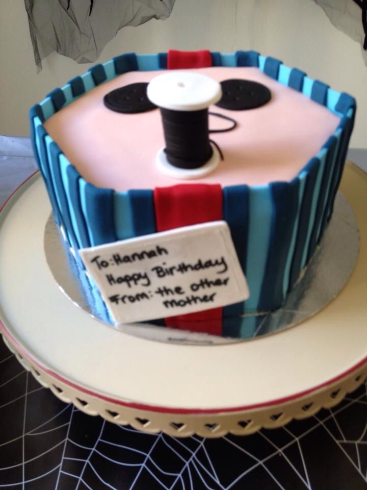 Astounding Coraline Themed 7Th Birthday Birthday Party Themes Coraline Party Funny Birthday Cards Online Inifodamsfinfo