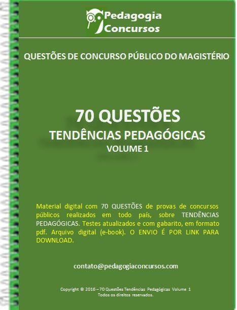 70 Questoes Tendencias Pedagogicas Com Imagens Historia Da