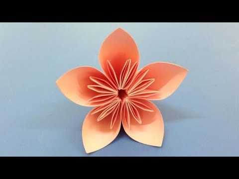 How to make a kusudama paper flower easy origami kusudama for how to make a kusudama paper flower easy origami kusudama for beginners making diy paper crafts youtube mightylinksfo