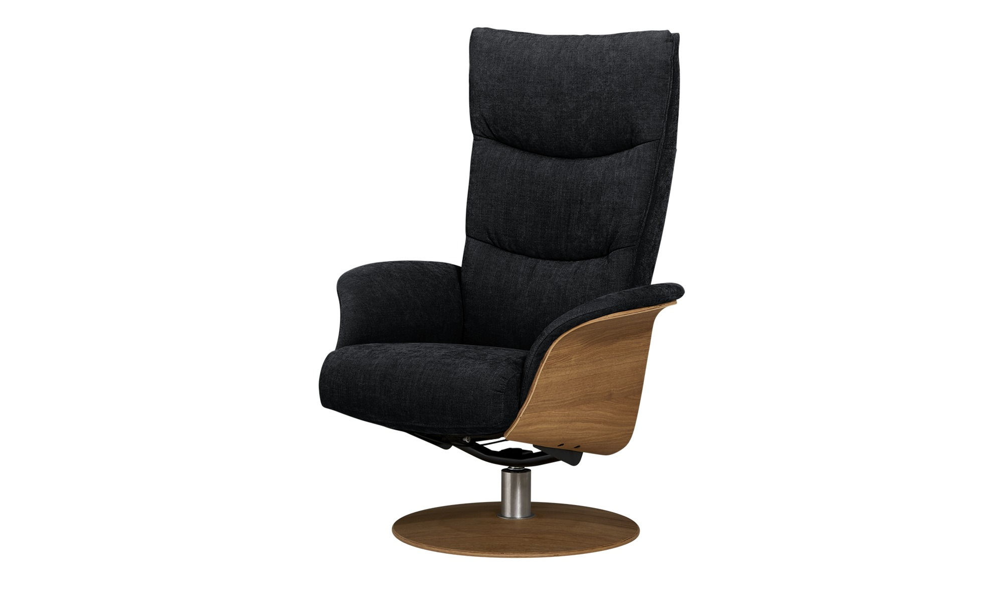 Vintage Ledersessel Einzel Sessel Design Ohrensessel