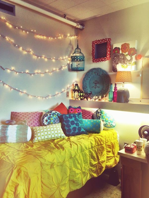 Unrealistic Expectations Of A Dorm Room, But What Do You Think Of Those  Twinkling Lights Part 24