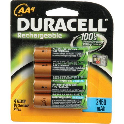 Best Rated Duracell Aa Nimh Rechargeable Blister Pack 4 Per Pkg 2450mah Duracell Nimh Blister Pack
