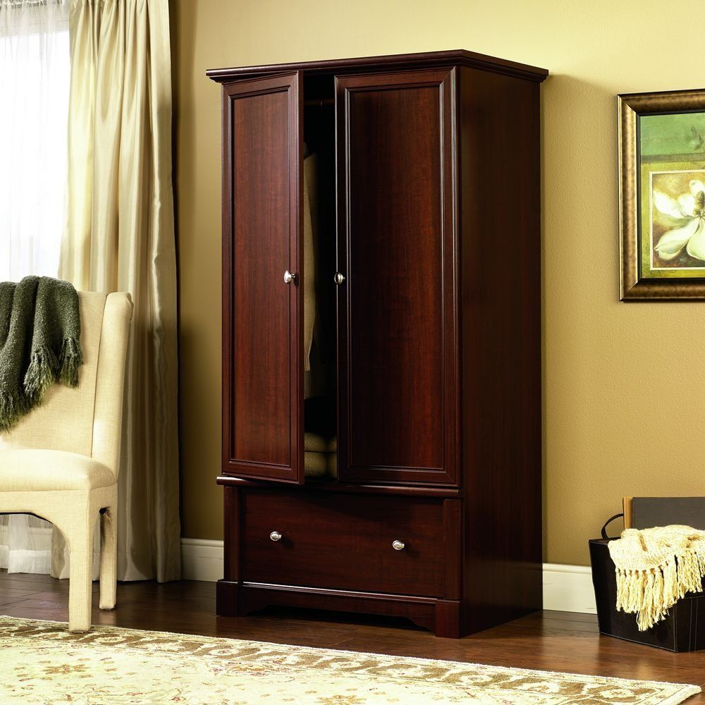 Cherry Wooden Wardrobe Closet