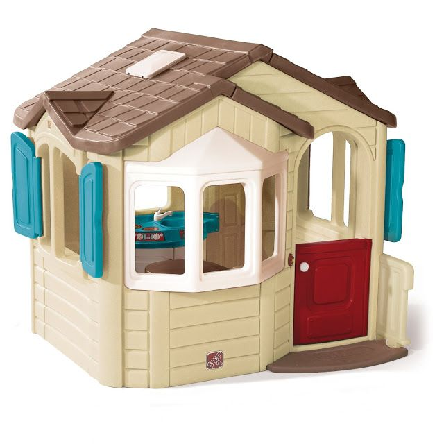 Pin On Kids Outdoor Plastic Playhouses With Kitchens Inside