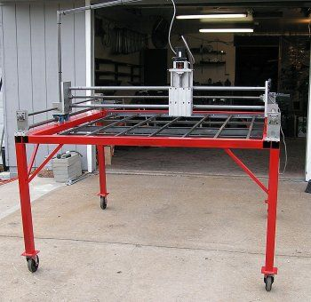 Cnc Three Axis Router Plasma Cutting Table