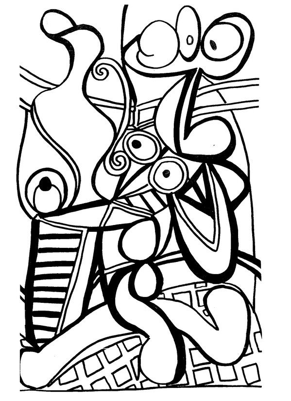 Large Still Life with a Pedestal Table - Picasso | Black and white ...