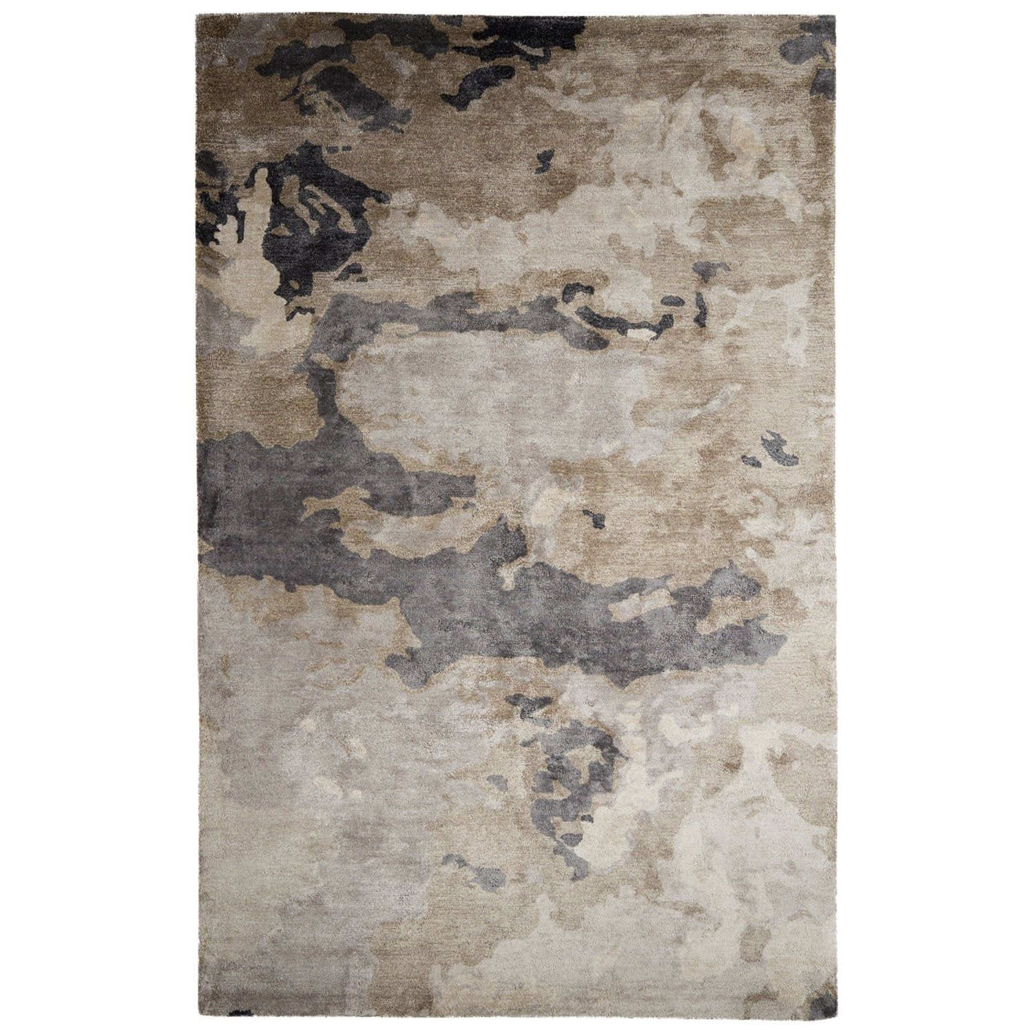 Mudra Handmade Abstract Gray/ Silver Area Rug (9' x 12') - Free Shipping Today - Overstock.com - 18353977
