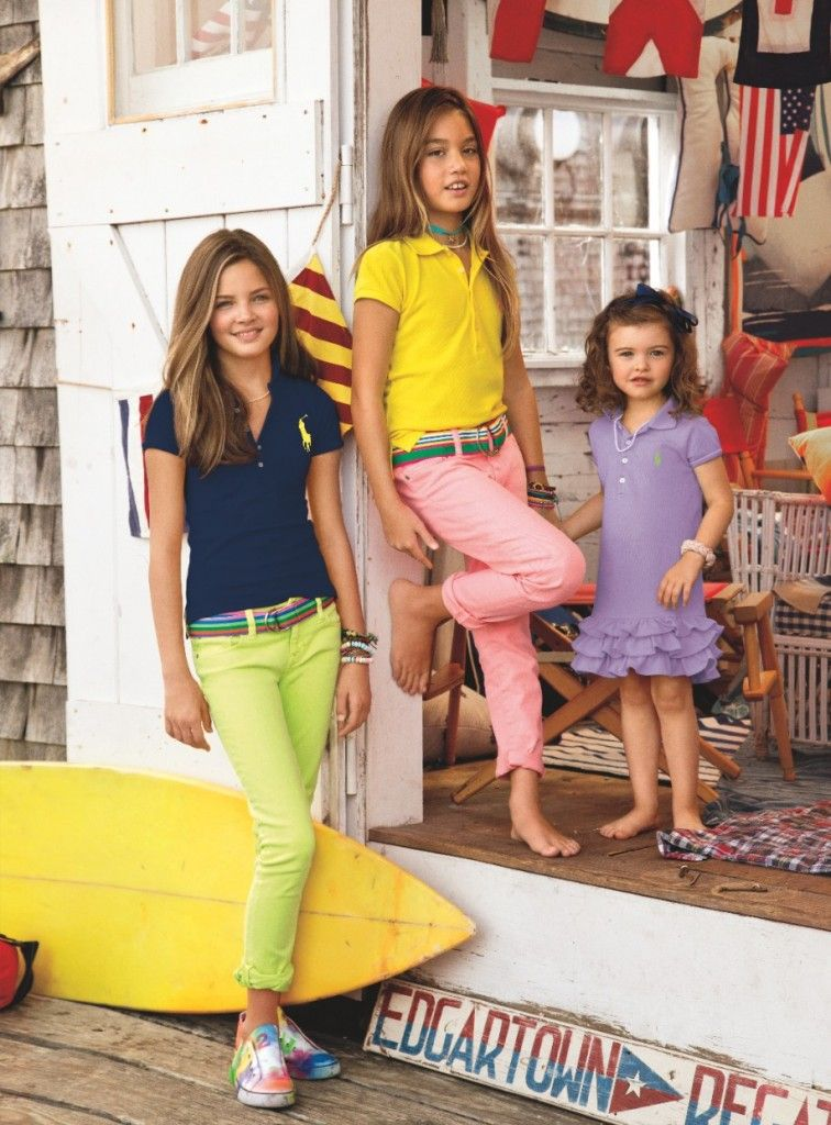 1b8a8adb9 Sunny bright colours from Ralph Lauren for summer 2014 kidswear tween  Fashion