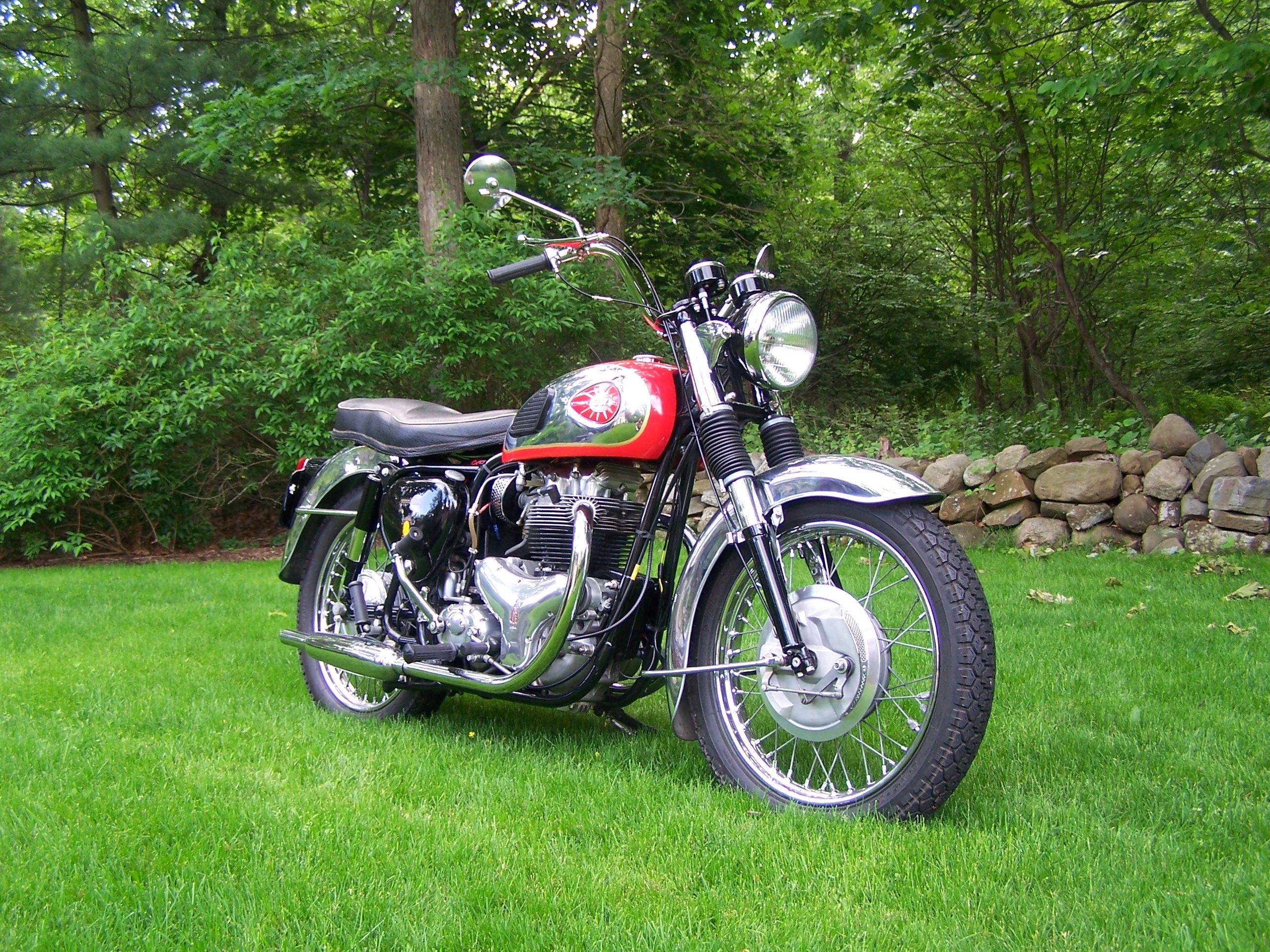 My bsa a10 british motorcycles