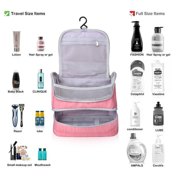 0c3f2f88cfc4 Designer Hanging Toiletry Bag| Travel Cosmetics Bag by HANKCLES ...