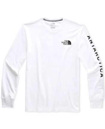 134c62aad The North Face Men's Antarctica Collectors Graphic T-Shirt - White ...
