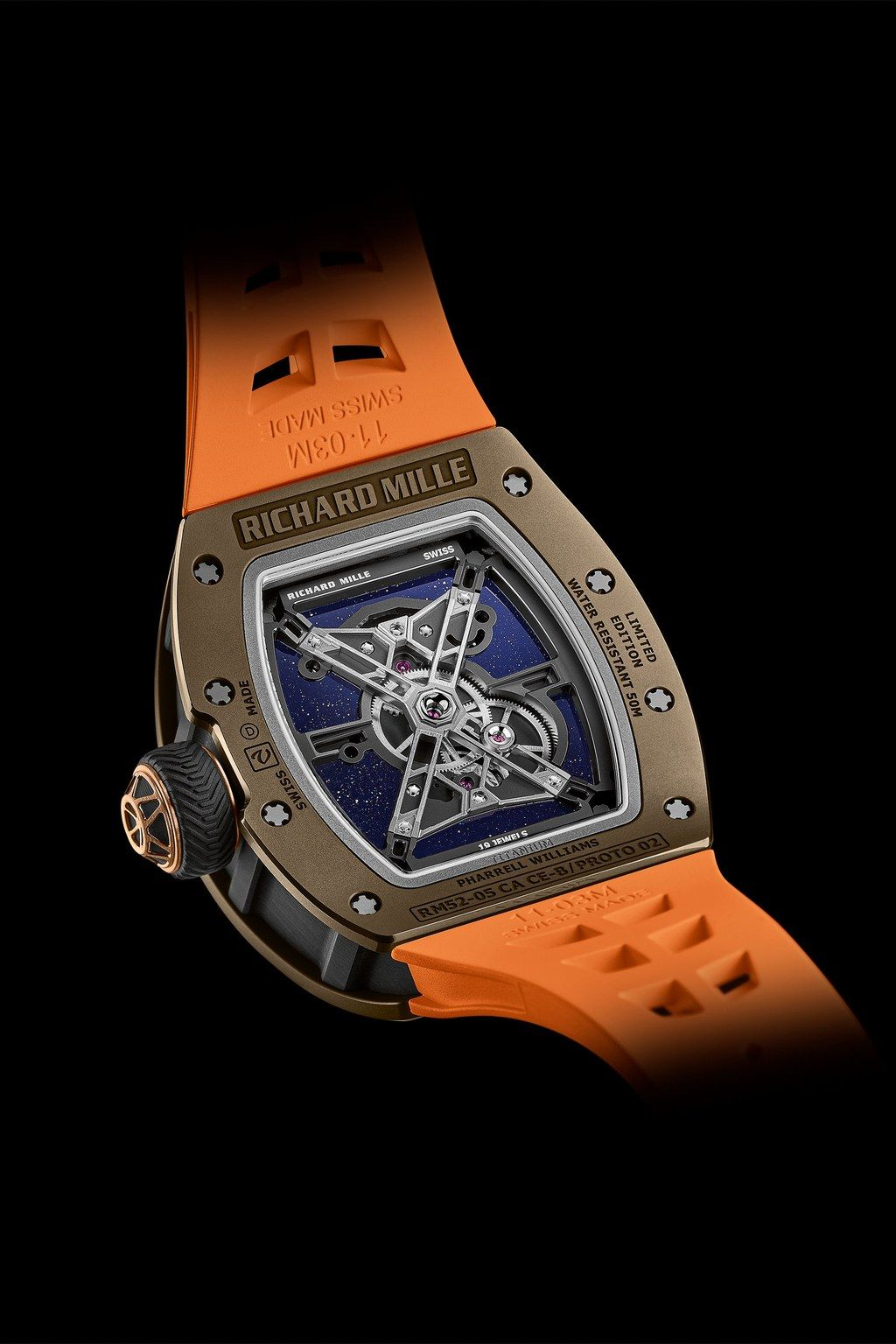 Pharrell And Richard Mille Collaborate On An Out Of This World Watch Richard Mille Watches Richard Mille Pharrell Williams