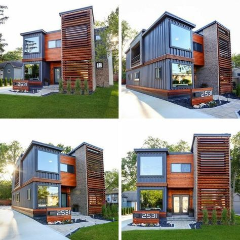 ROYAL OAK SHIPPING CONTAINER HOUSE | THE CASA CLUB