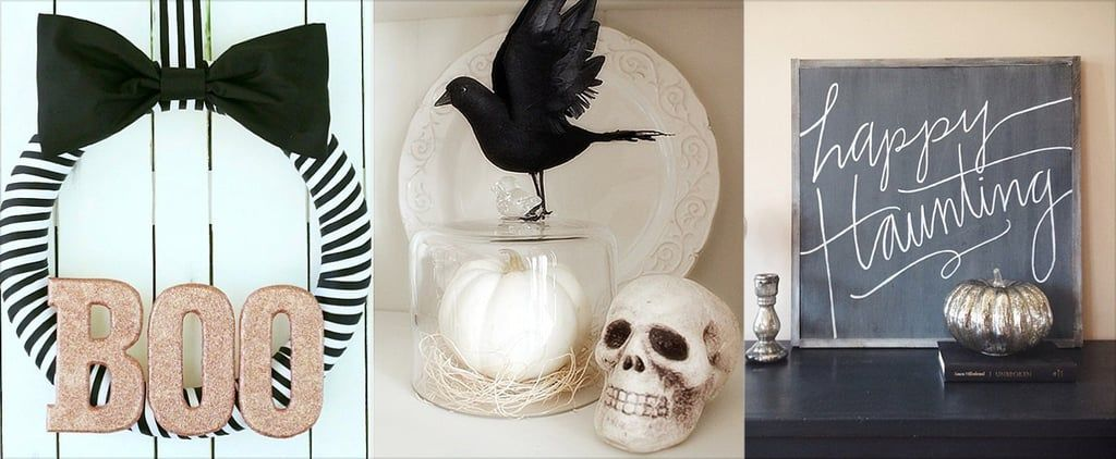 21 Real Halloween Decorating Ideas to Copy Spooky halloween and - how to make simple halloween decorations