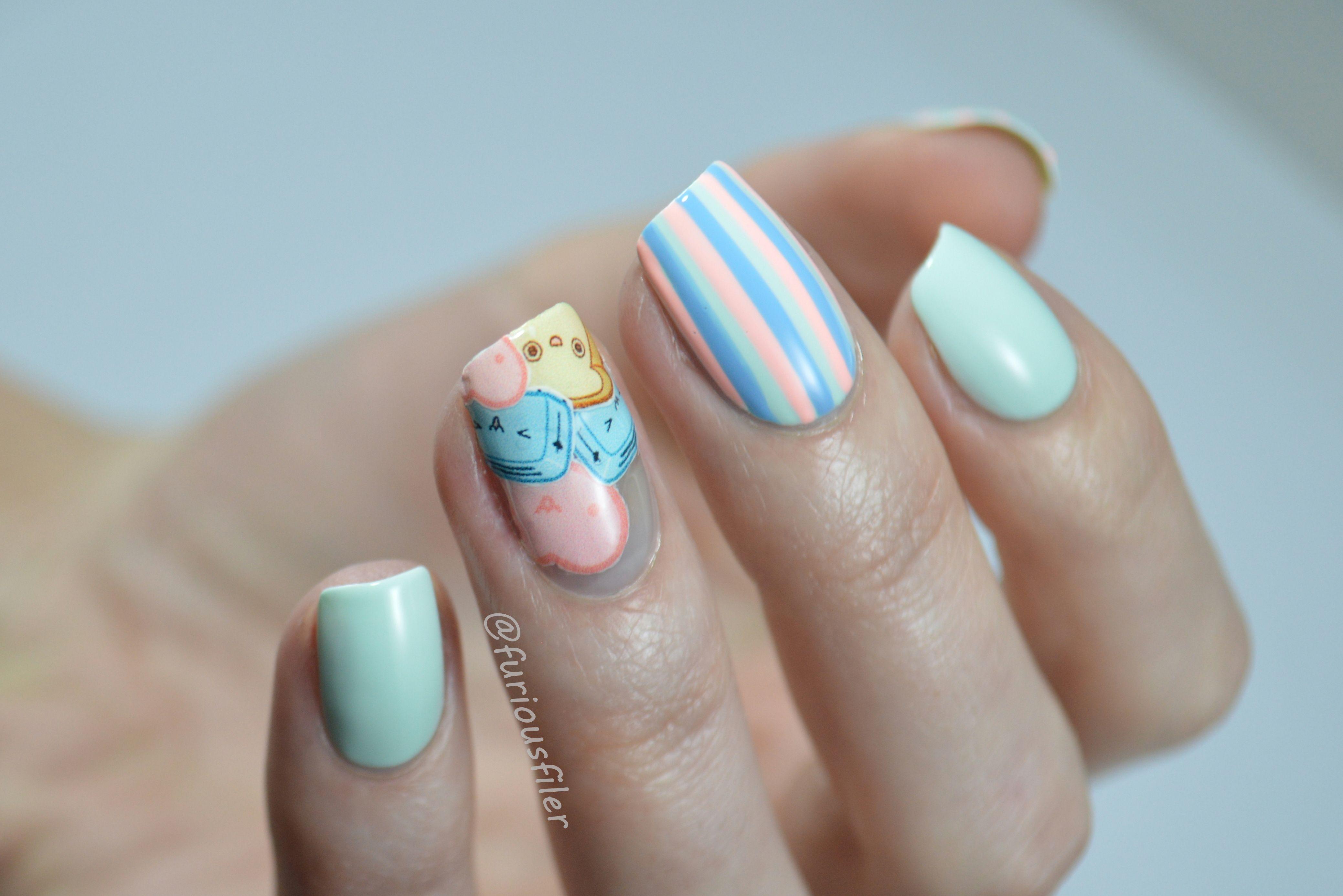 Kawaii Nail Design - Nailpro   Character Nails and Pop Art ...