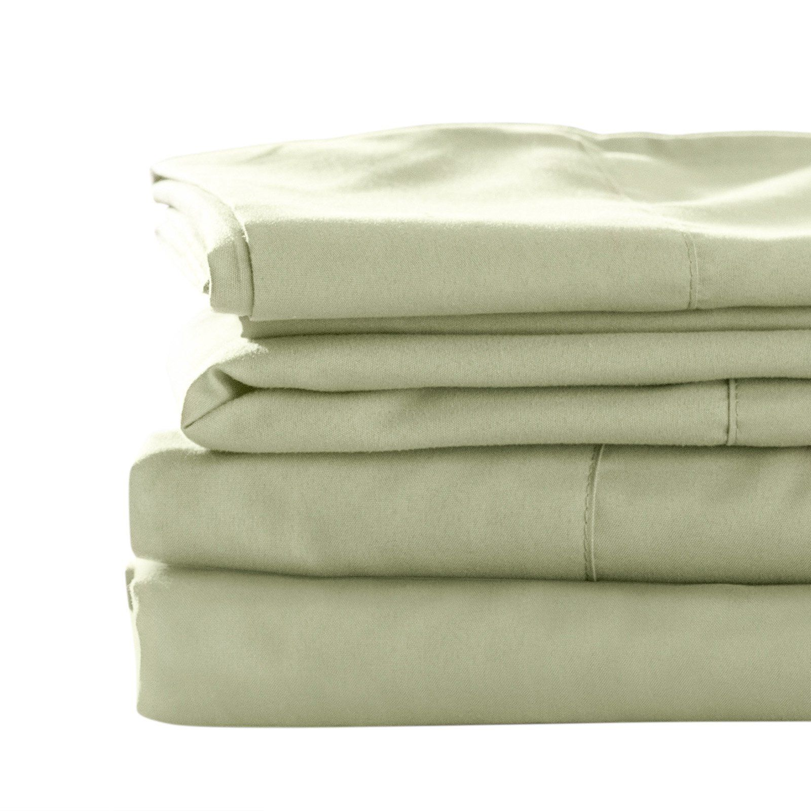 Blended Bamboo Sheet Set By Best Bamboo Bedding Sage Size Queen