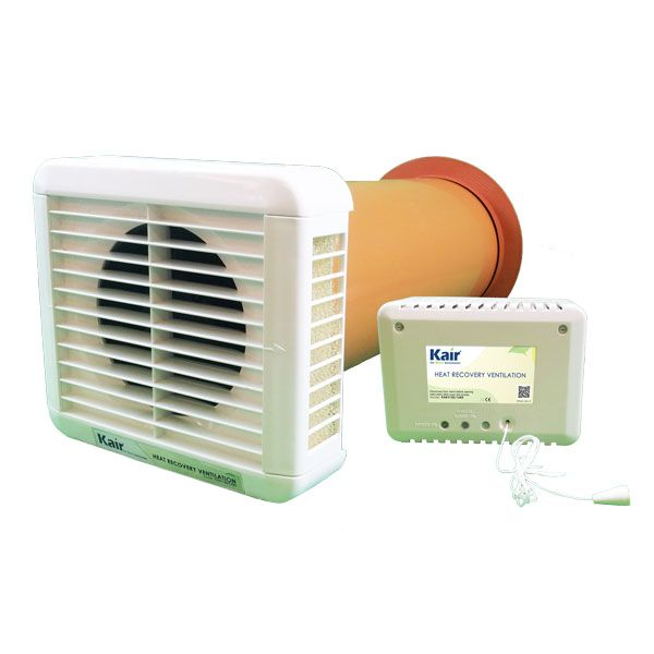 Kair Heat Recovery Extractor Fan 12vac Selv Humidistat Recovery Room Heat Recovery Ventilation Windowless Bathroom