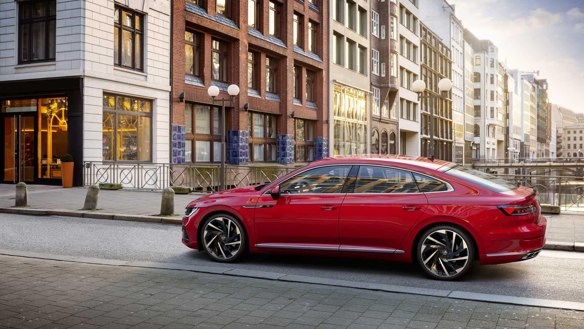 2021 Volkswagen Arteon Revealed New Tech New Face No Shooting Brake For Us Volkswagen Passat Volkswagen Shooting Brake