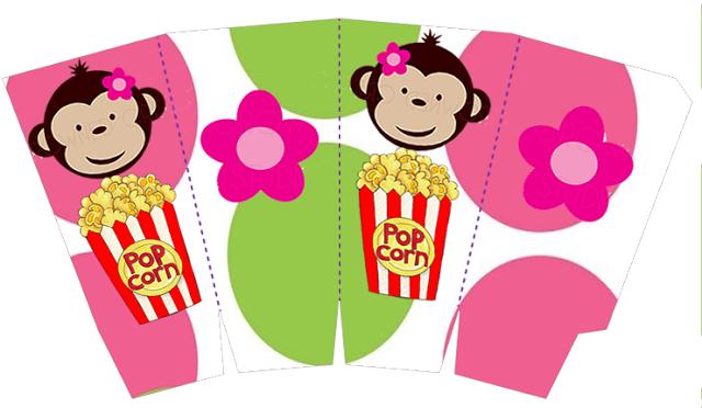 Divertido Kit de Monitos para Imprimir Gratis. | labels printables ...