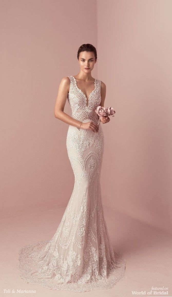 Mermaid Wedding Dresses : Tali & Marianna 2018 Wedding Dress | Blusas