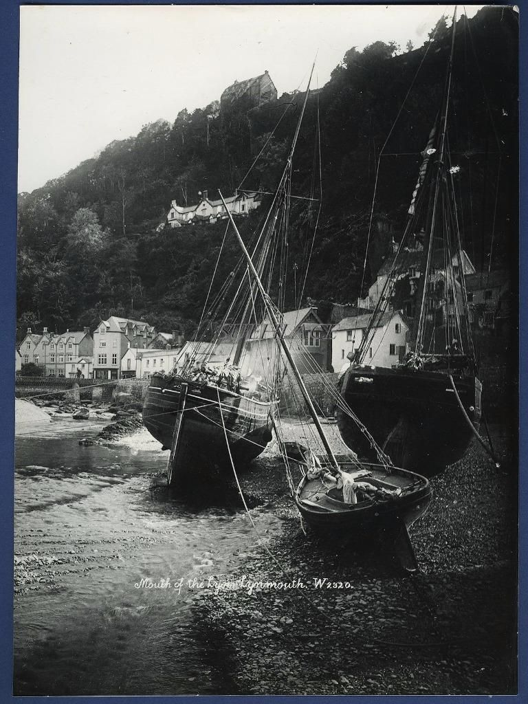 Sailing Ship Ketch Little Jane Newquay Plymouth Lynmouth Smack Melbourne | eBay