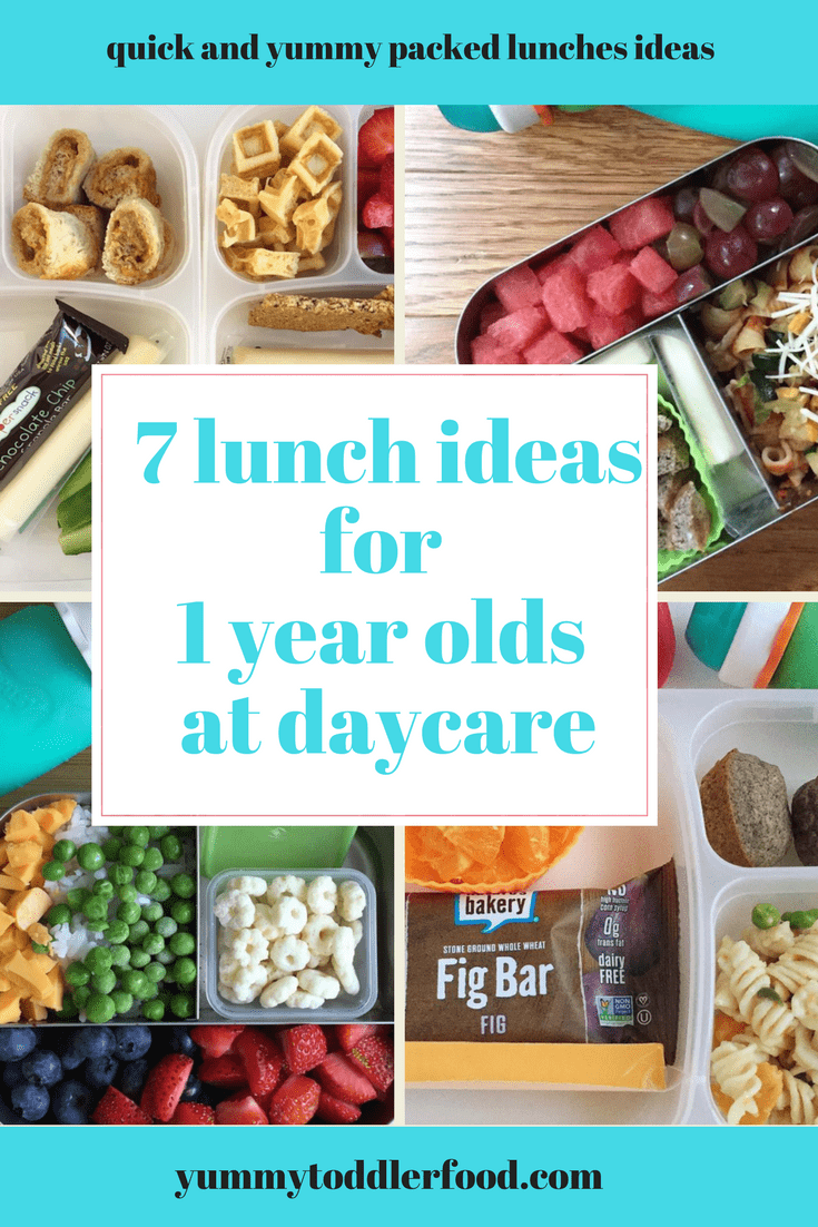 7 Lunch Box Ideas for 1 Year Olds images