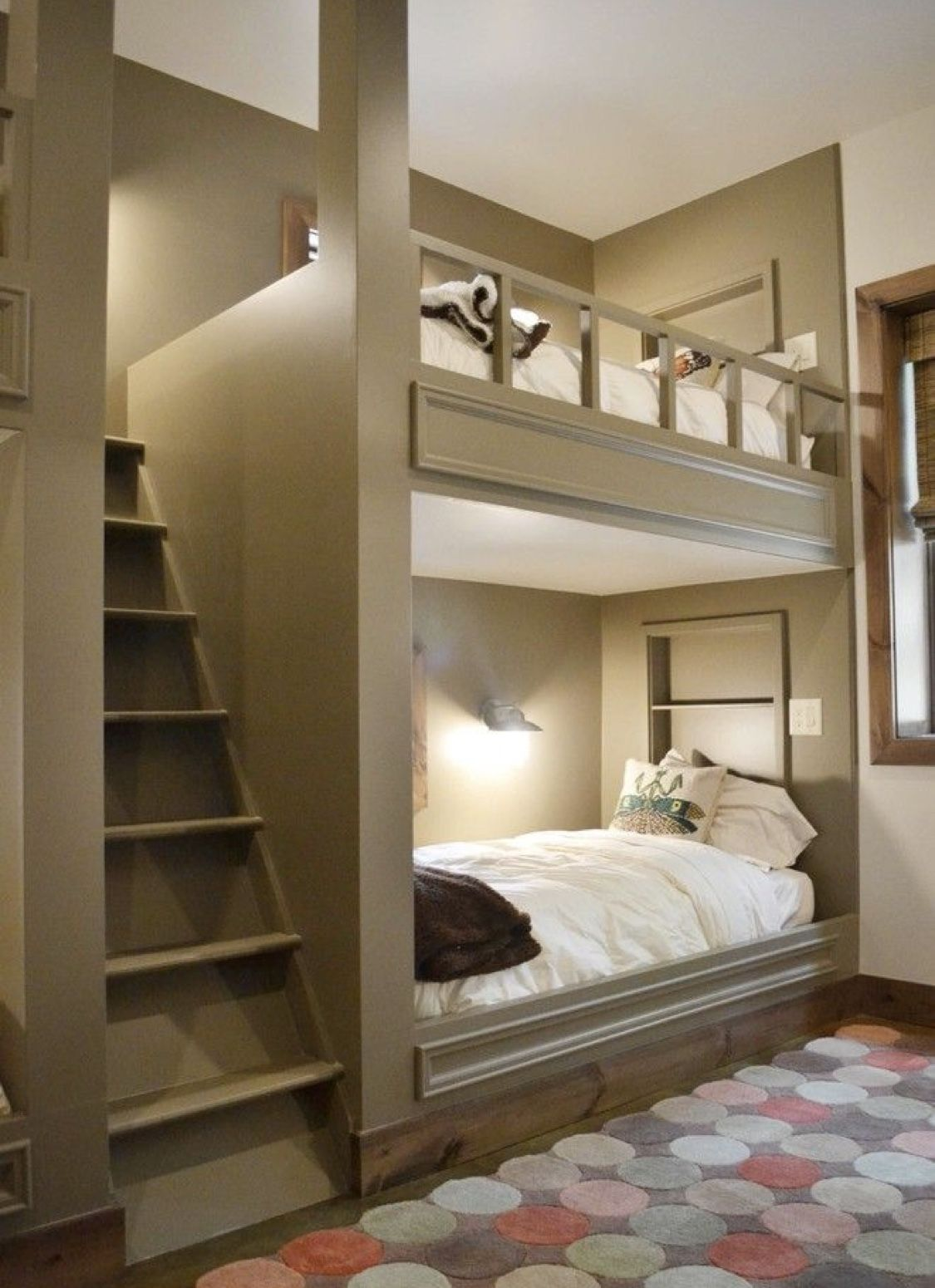 Loft bed with stairs diy  Pin by Sara Hurand on rb apartment  Pinterest  Bunk beds with