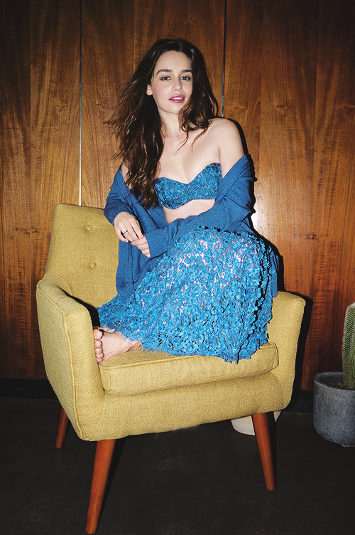 """simplyemiliaclarke: """" New/ Old pictures from Emilia's photoshoot for Marie Claire, 2014. """""""