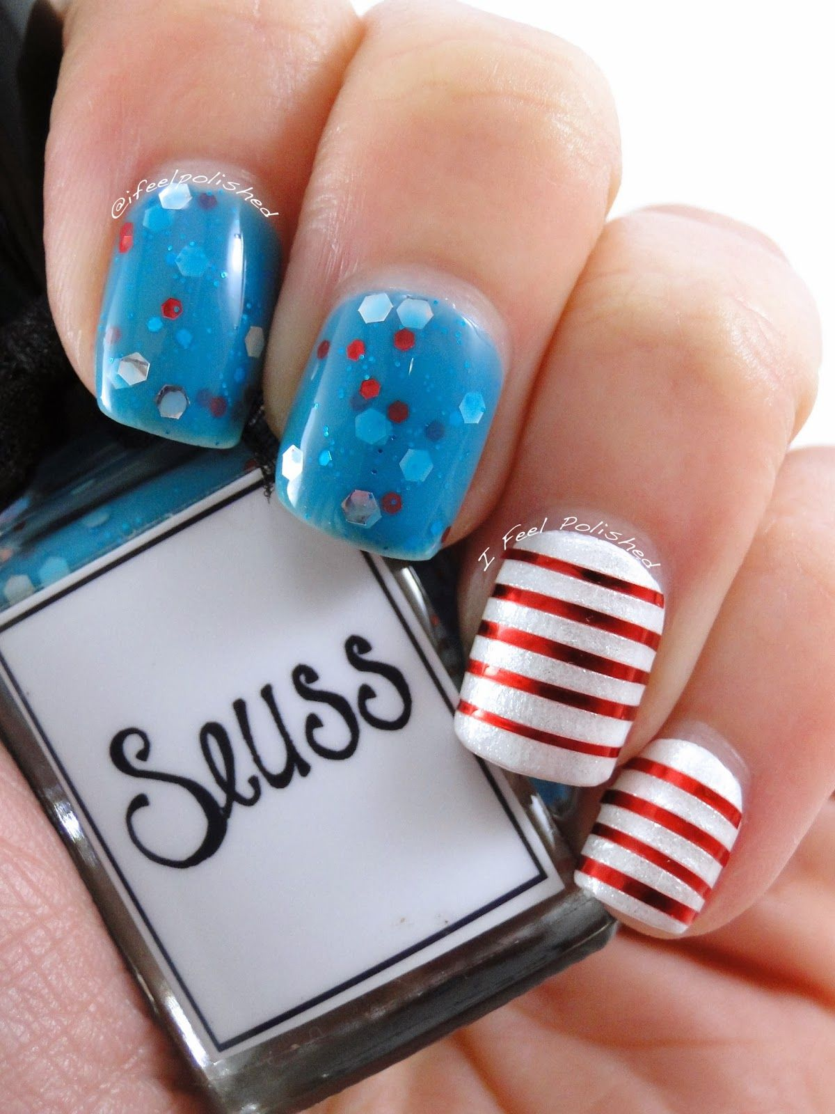 Try this DIY nail design inspired by Dr. Seuss! Visit Beauty.com for ...