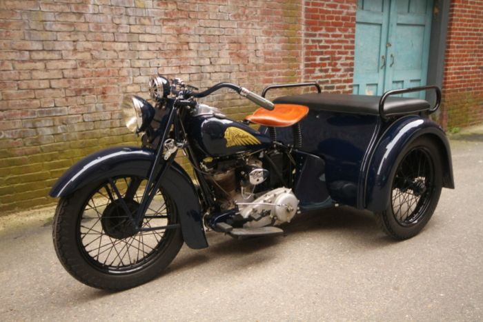 1938 Indian Dispatch Tow