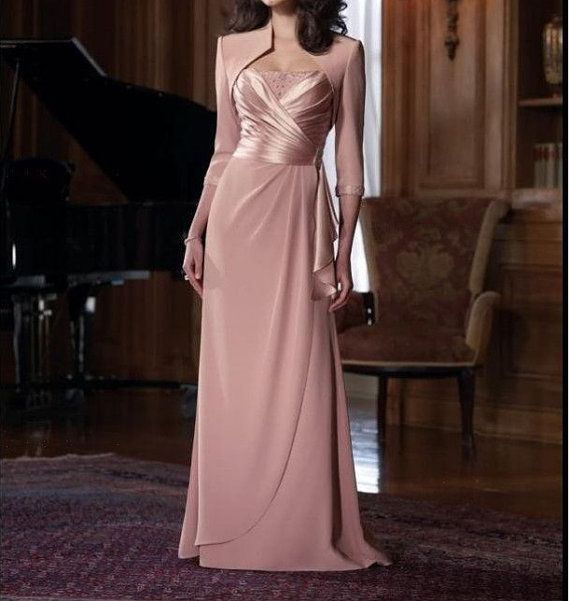 New Pink Chiffon Mother of the Bride dresses by loveBaby2015 ...