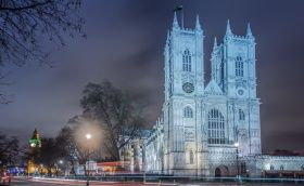 London, Westminster Abbey, England, lys, nat