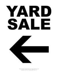 printable for sale signs