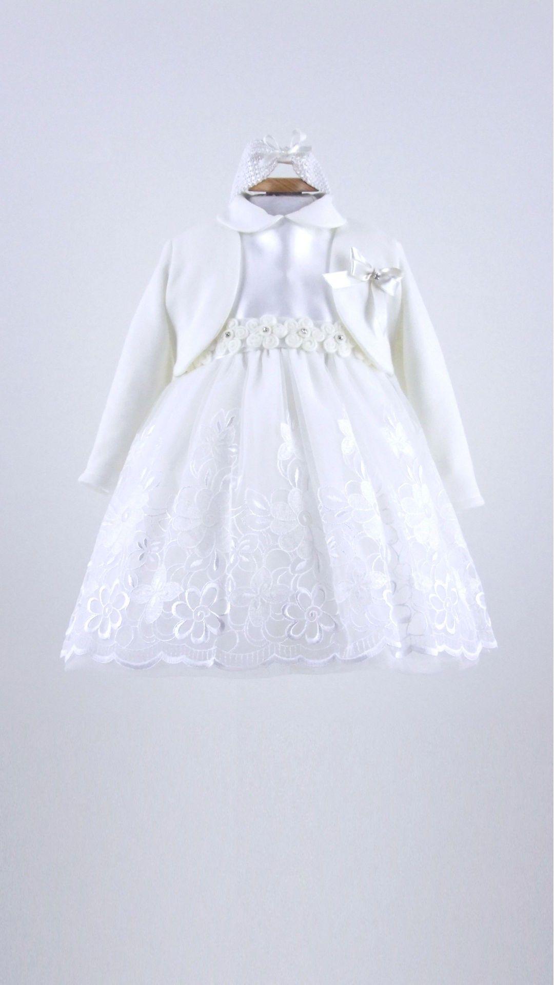 94115fb993f0d Abito Battesimo Bimba Les Jolies - Abbigliamento Neonati Bolle di Sapone