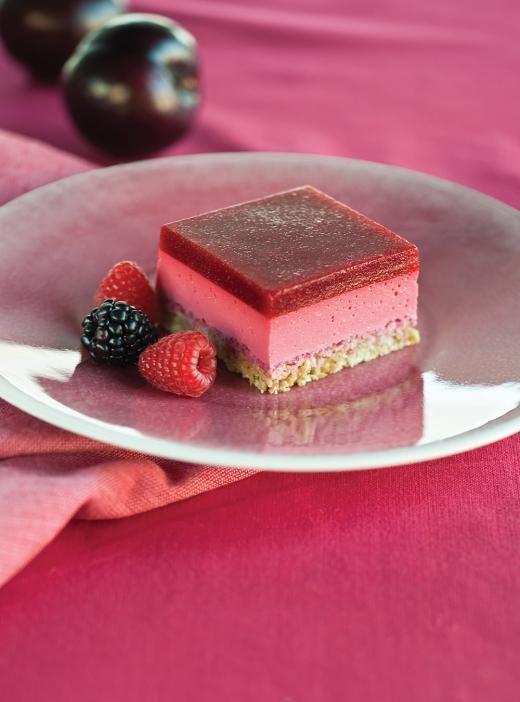 Yogurt and Raspberry Squares | Ricardo | Recipe | Desserts ...