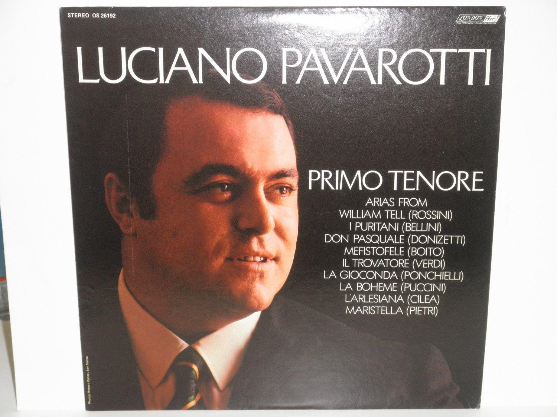 Vintage Vinyl Luciano Pavarotti Primo Tenore London