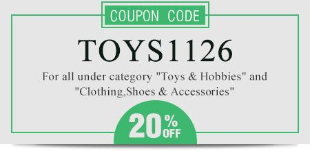 Coupon code: TOYS1126