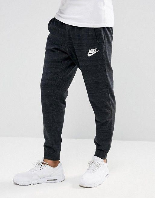 Nike Tracksuit Bottoms Joggers Navy Oragon Excellent In Quality