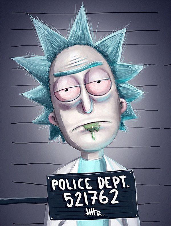 rick and morty fan art: rick sanchez   Rick and Morty   Rick, morty