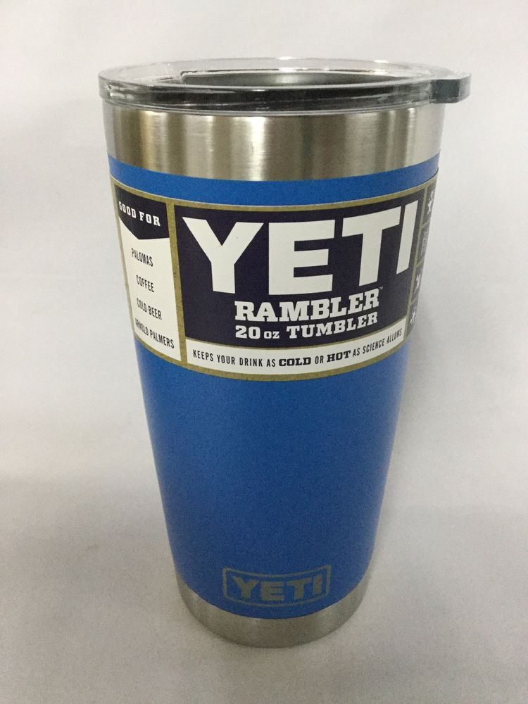 4e2993032ca YETI Rambler 20 oz Stainless Steel Vacuum Insulated Tumbler with Lid ...