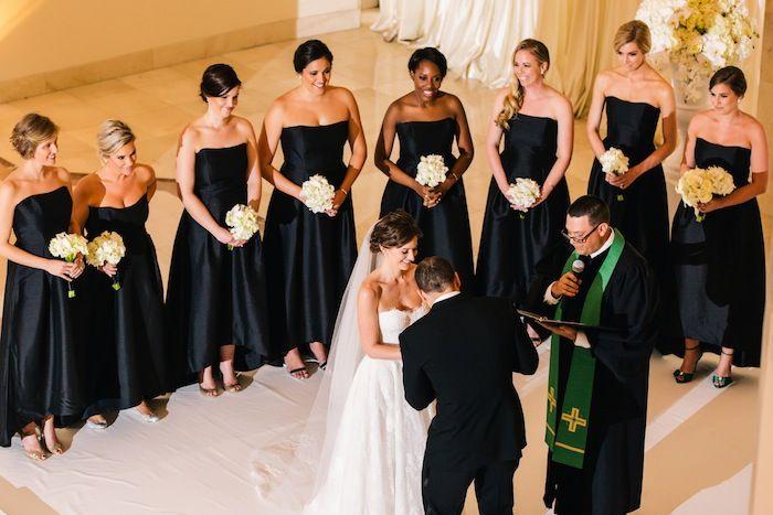 Atlanta Wedding With Glam Decor