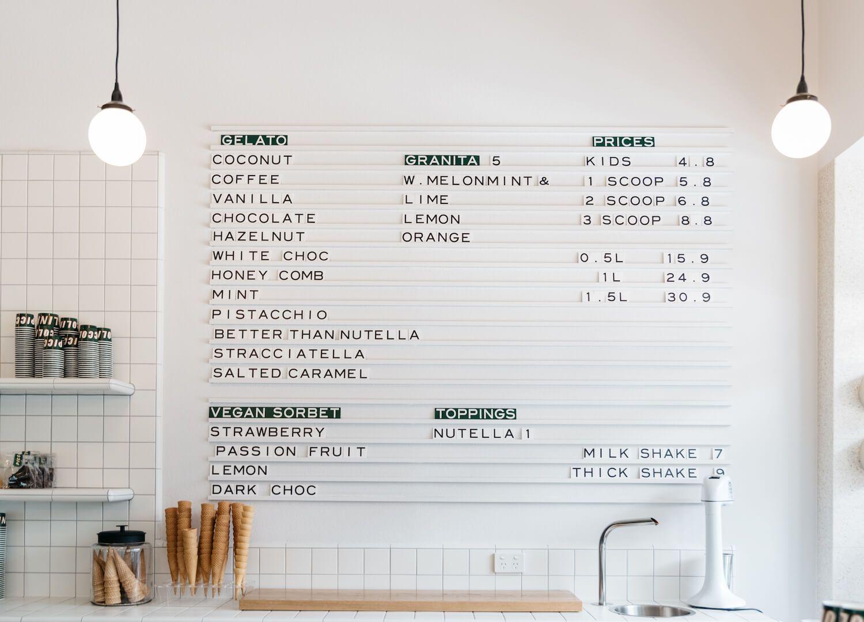 Piccolina Gelateria Australian Design Est Living Coffee Shop Design Cafe Interior Design Australian Design