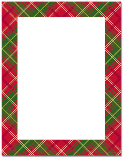 Free Holly Border Template Christmas Stationery Printer Paper