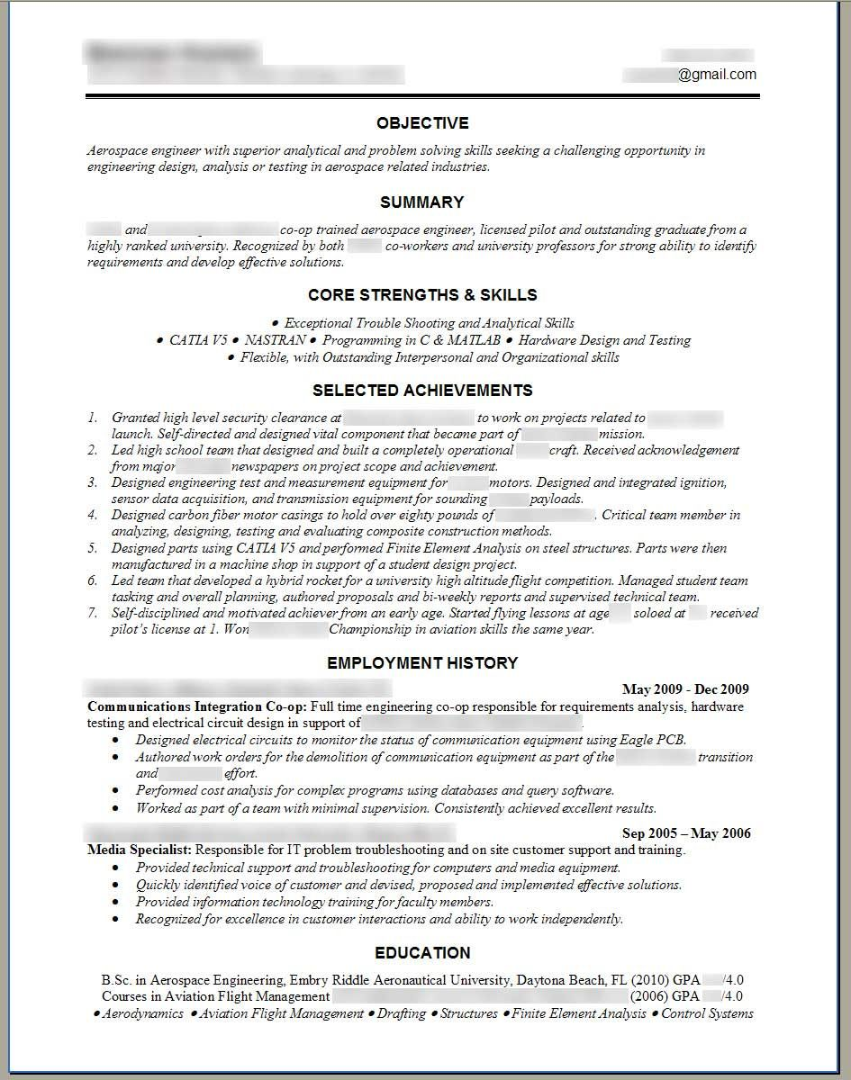 engineering resume template click right here to access my absolutely free training course - Sample Professional Resume Format