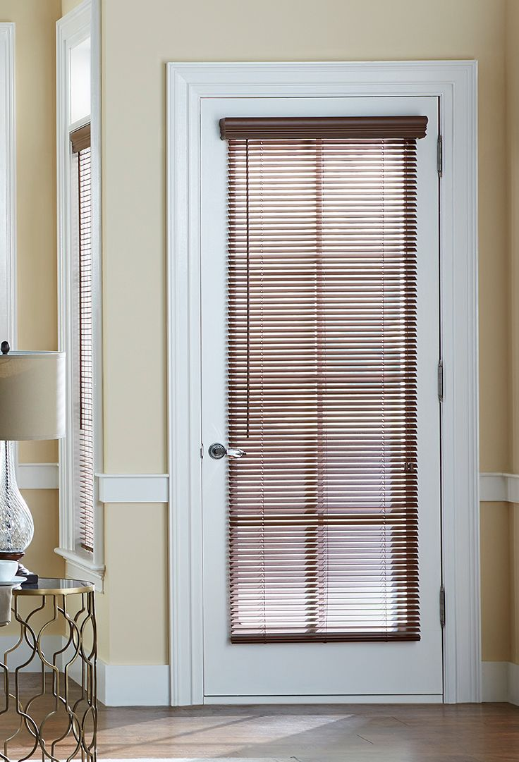 Wooden Door Blinds 1